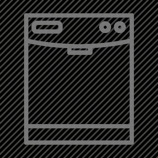 appliance, clean, cook, dishwasher, kitchen icon