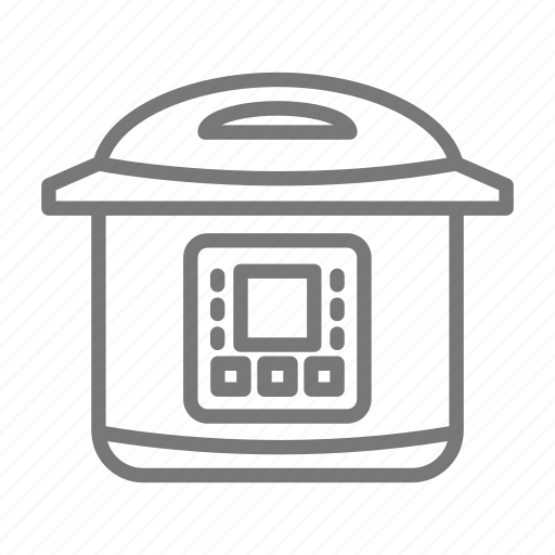 appliance, cooker, electric, instapot, pressure, slow cooker icon