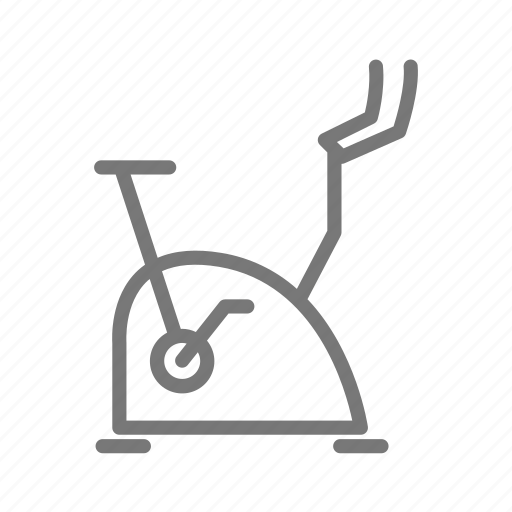 bicycle, bike, cycling, exercise, gym, stationery, workout icon