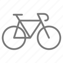 bicycle, bike, cycle, fitness, ride, speed, sport icon