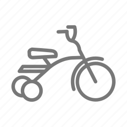 bike, child, kid, ride, toy, tricycle, wheel icon