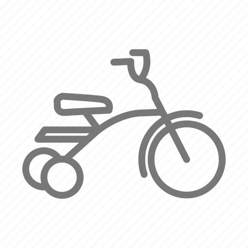 bike, child, kid, ride, toy, tricycle, trike icon