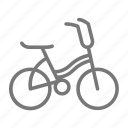 banana seat, bicycle, bike, child, kid, ride, wheel icon