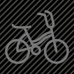 bicycle, bike, child, cycling, kid, ride, wheel icon