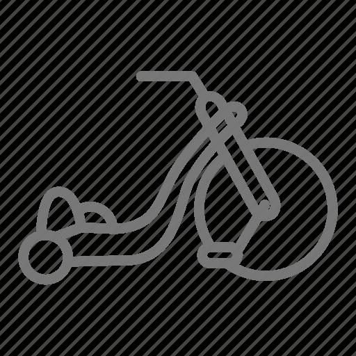 bicycle, big wheel, bike, child, children, play, toy icon