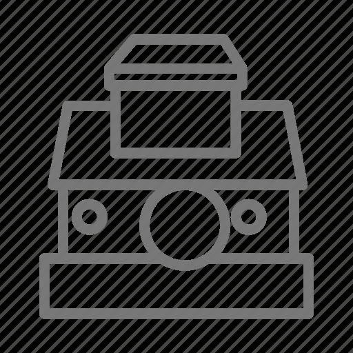 camera, film, instant, kodak, photo, polaroid, vintage icon