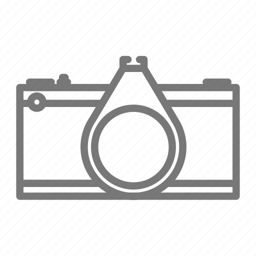 Camera film media photo photography slr vintage icon for Camera minimal