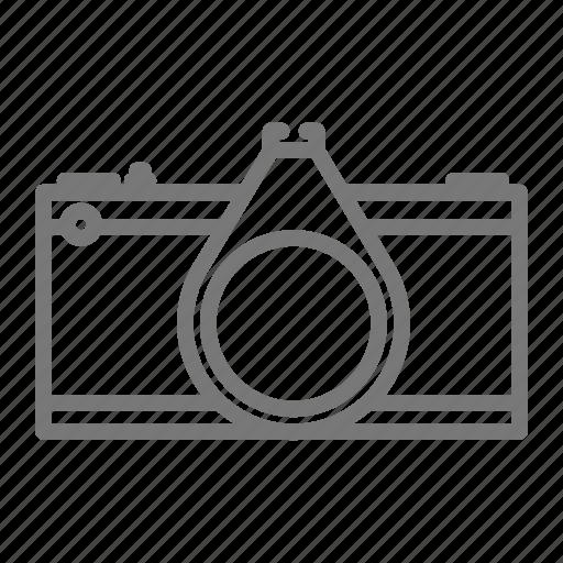 camera, film, media, photo, photography, slr, vintage icon