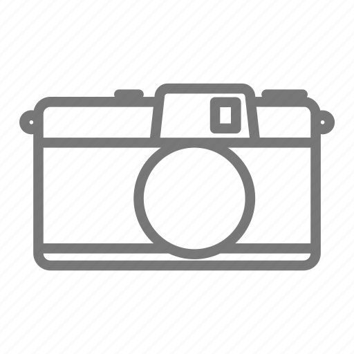 Camera film image lens photo photography slr icon for Camera minimal