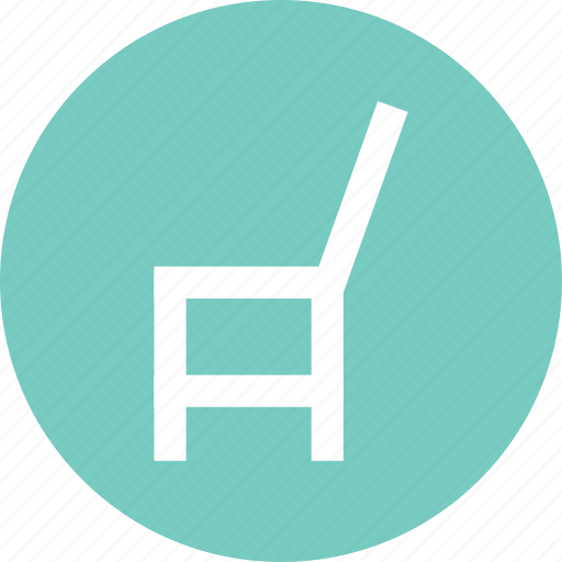 chair, chair icon, chair sign, furniture, home furniture, seat, sit icon
