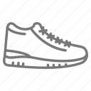 diet, exercise, running, shoe, sneaker, tennis, workout icon