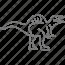 cretaceous, dinosaur, jurassic, prehistoric, spinosaurus