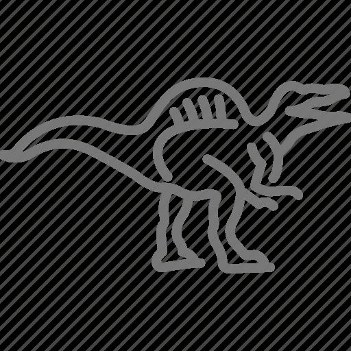 Cretaceous, dinosaur, jurassic, prehistoric, spinosaurus icon - Download on Iconfinder