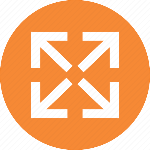Arrows, directions, fullscreen, resize icon - Download on Iconfinder