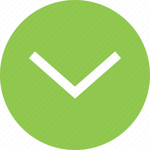 Bottom, down, down arrow, south, south direction icon - Download on Iconfinder