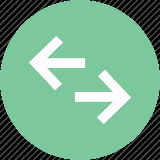 Arrows, exchange, exchange currencies, exchange icon, horizontal exchange icon - Download on Iconfinder