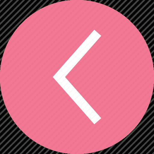 arrow, arrow icon, left, left arrow, left direction icon