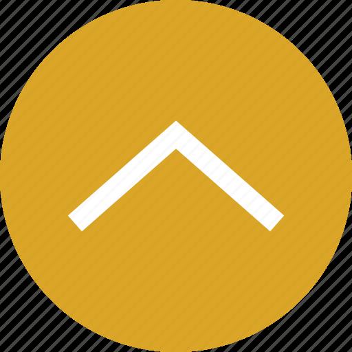 Arrow icon, to top, top, top arrow, up arrow icon - Download on Iconfinder