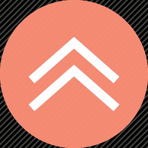 north direction, top, top arrow, up arrow icon