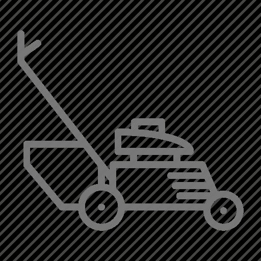 cut, garden, grass, lawn, lawn mower, lawnmower, mow icon