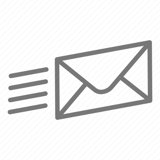 email, envelope, mail, post, send icon