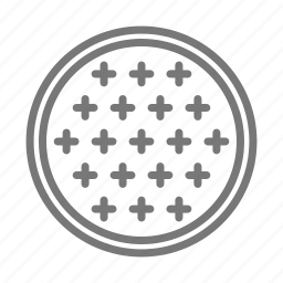 construction, cover, drain, manhole, metal, sewer, street icon