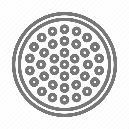 construction, cover, manhole, metal, sewer icon