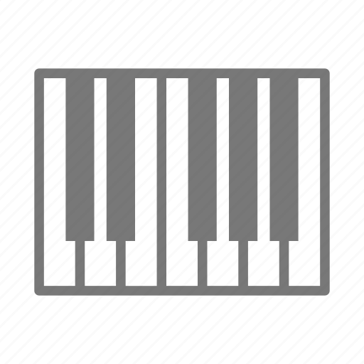 band, keys, music, piano icon