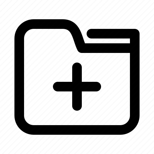 add, documents, folder, new icon