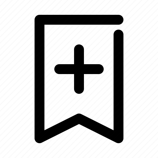add, bookmark, new icon