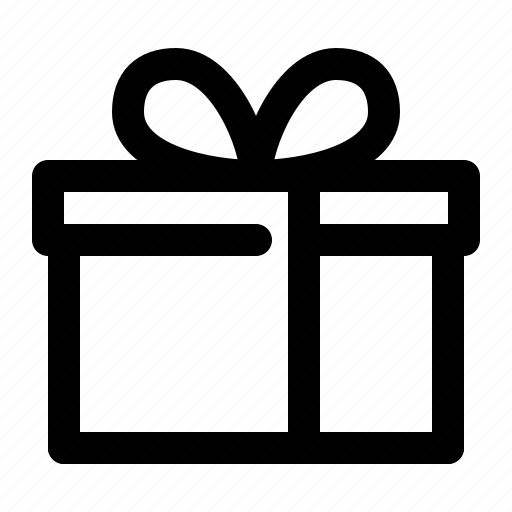box, gift, wrap icon