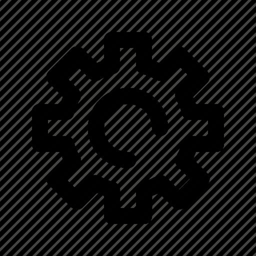 gear, settings icon