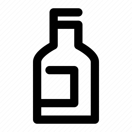 beer, bottle, drink, label, soda icon