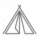 adventure, camp, frame, outdoor, tent icon