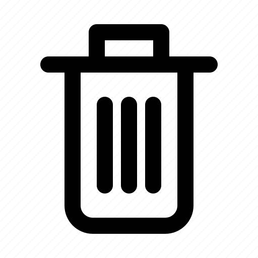 app, interface, software, trash, ui, ux icon