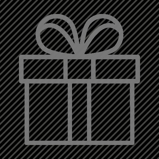 Gift, heart, present, valentine icon - Download on Iconfinder