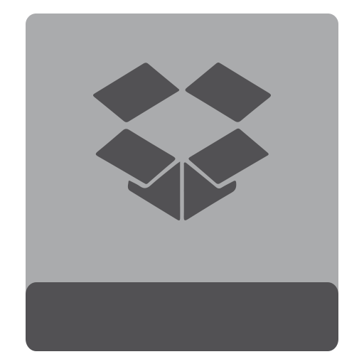 dropbox, hdd icon