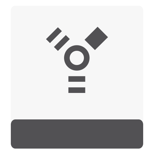 firewire, hdd, white icon