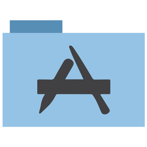 appicns, application, folder icon