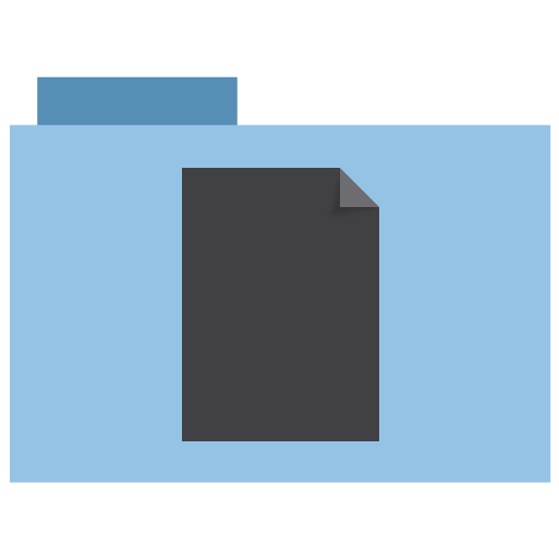 appicns, document, folder icon