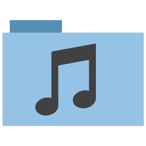 appicns, folder, music icon