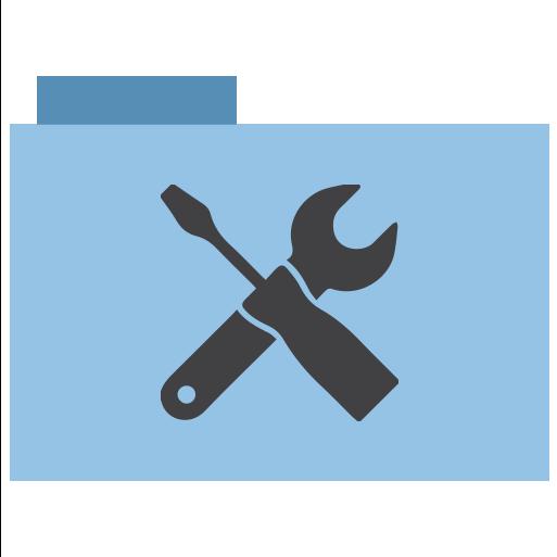 Folder, utilities, appicns icon