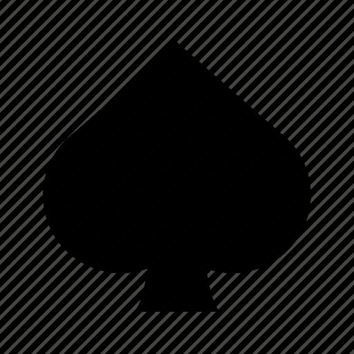 deck, game, luck, spade icon
