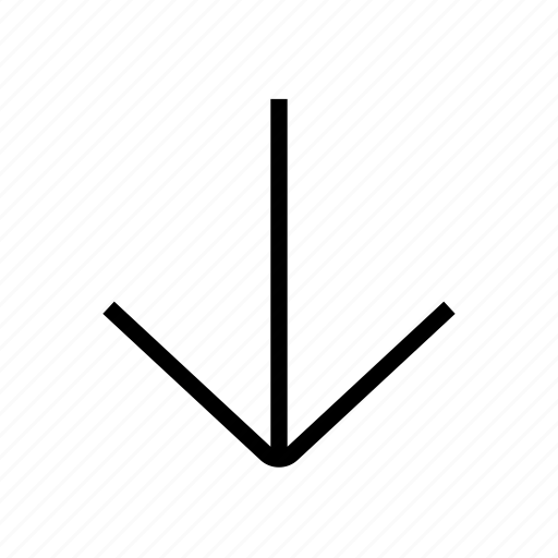 Arrow, down, download, save icon - Download on Iconfinder