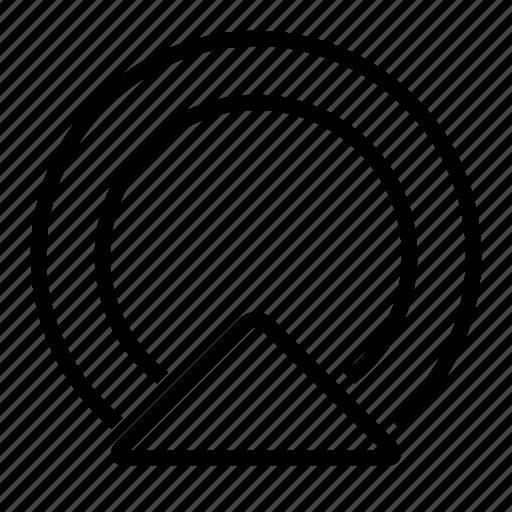 gprs, gps, location, navigation icon