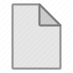 blank, extension, file, format, hovytech, misc, type icon