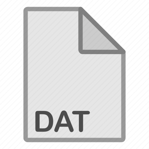 dat, extension, file, format, hovytech, misc, type icon