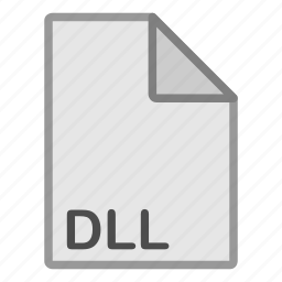 dll, extension, file, format, hovytech, misc, type icon