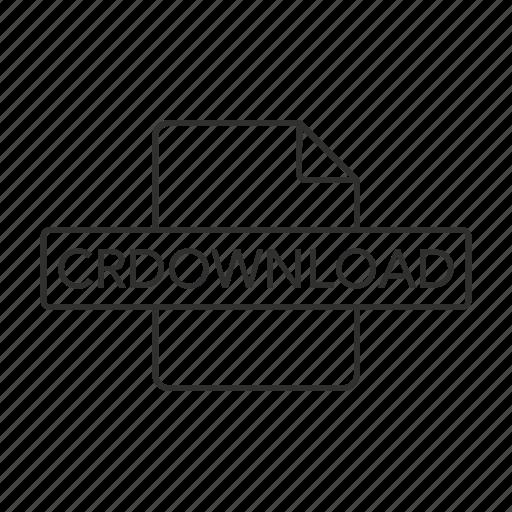 .crdownload, crdownload document, crdownload file, crdownload file icon, crdownload format, crdownload icon icon