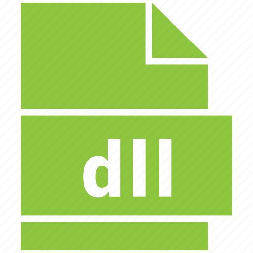 dll, dynamic, library, link, misc file format icon